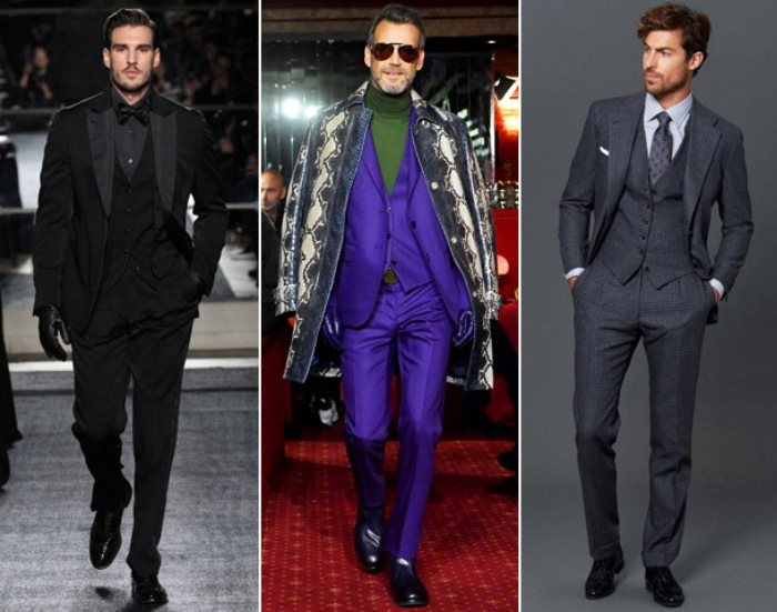 b85e27a84 Мужская мода в 2019 году не смогла обойтись без костюмных решений, среди  которых особняком стоят ансамбли-тройки, дополненные жилетами.